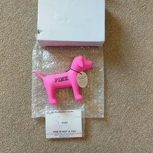 New Victoria's Secret Pink Dog Bluetooth Speaker